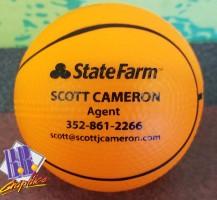 Scott Cameron State Farm Stress Basketball