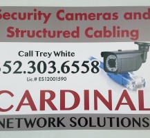 Cardinal Network Solutions Yard Signs