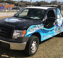 Chet Craig Plumbing Truck Full Wrap Front