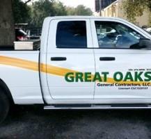 Great Oaks General Contractors Truck