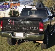 Scott Mann Truck Back