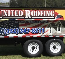United Roofing Trailer