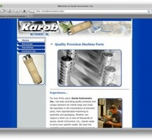 Karob Instrument Website