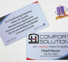 Comfort Solutions Business Card