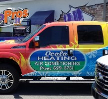 Ocala Heating & Air PickUp Truck