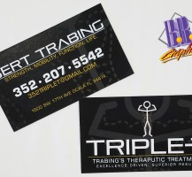Triple T Business Cards