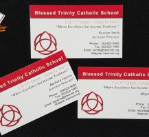 Blessed Trinity Business Cards
