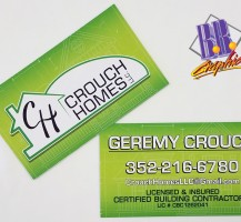 Crouch Homes Business Cards