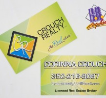 Crouch Realty Business Cards