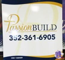 Passion Build Sign