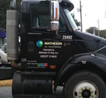 Matheson Gas Truck