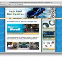 Mega Sound Glass Masters Website