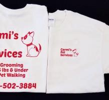 Carmi's Pet Services T-shirt