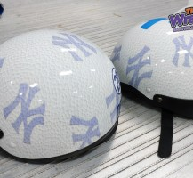 New York Yankee Helmets