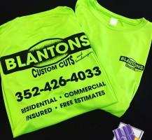 Blanton's Custom Cut's T-Shirts