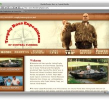Trophy Bass Expeditions Website