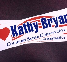 Kathy Bryant Bummer Stickers