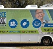 Workforce Connection Bus