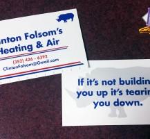 Clinton Folsom's Heating and Air