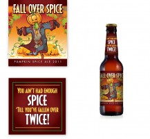 Fall Over Spice Beer Label