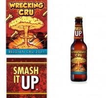Wrecking Cru Beer Label