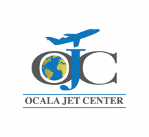 Ocala Jet Center Logo Design