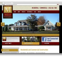 Mega Construction Website