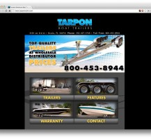 Tarpon Trailers Website