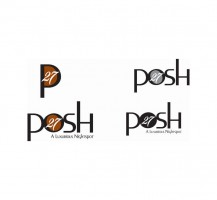 Posh 27 Logo Design
