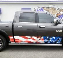 American Flag – Rocker Panels