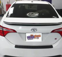 Toyota Corolla Spoiler/Hood