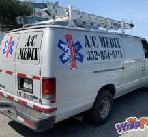 A/C Medix Van Graphic
