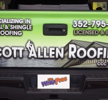 Scott Allen Roofing Tailgate