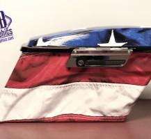 American Flag Saddle Bags