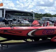 Bass Boat Wrap