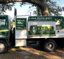 Regal Pest Control Truck