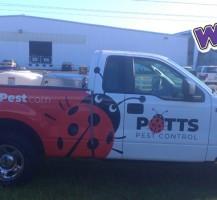 Potts Pest Control Truck