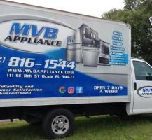 MVB Appliance Box Truck