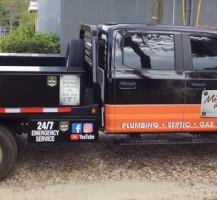 Mike Scott Plumbing Vehicle Wrap