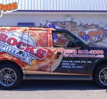 J-Rocks Pizzeria Vehicle Wrap