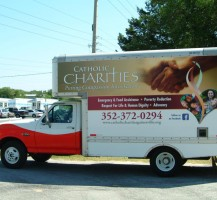 Catholic Charities Box Truck