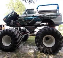 Standing Tall Monster Truck