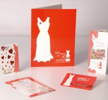 Women in Red Print Package
