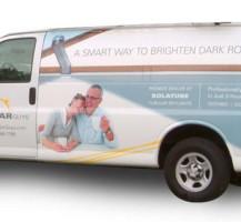 Solar Guys Van