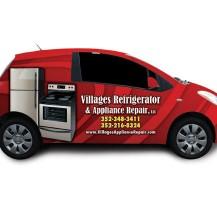 Villages Refrigerator Car