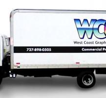 West Coast Graphics Box Truck