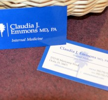 Claudia Emmons Business Cards