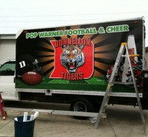 Under Construction Dunnellon Tigers Truck