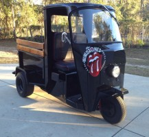 Rolling Stones Scooter Front