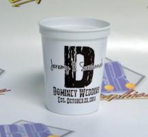 Dominey Wedding Cups
